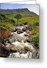 Kerry Mountains Greeting Card