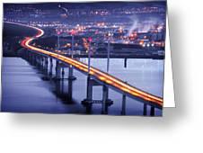 Kessock Bridge Inverness Greeting Card