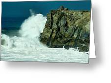 Lady Of Mugu Rock 1  Greeting Card