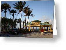 Lauderdale By The Sea Greeting Card