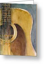 Martin Guitar D-28  Greeting Card