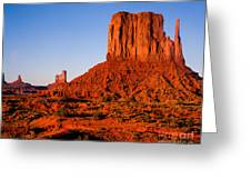 Monument Valley Sunset Greeting Card