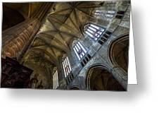 Narbonne Cathedral Greeting Card