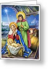 Nativity Of Jesus Greeting Card