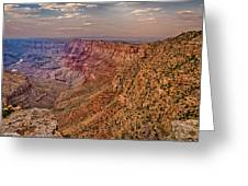 Navajo Viewpoint In Grand Canyon National Park Greeting Card