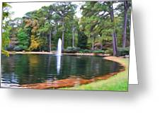 Norfolk Botanical Gardens 2 Greeting Card