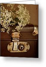 Old Suitcase Greeting Card