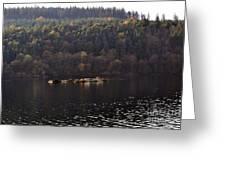 On The Lake Greeting Card