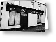 Pat Cohans Bar Featured In The John Wayne John Ford Classic The Quiet Man Cong Greeting Card