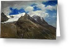 Peaks In The Rockies Greeting Card