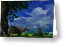 Philippine Countryside Greeting Card