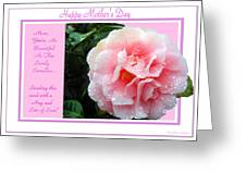 Pink Camellia - Happy Mother's Day Greeting Card