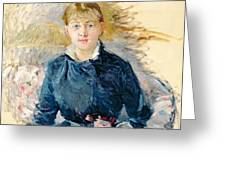Portrait Of Louise Riesener Greeting Card
