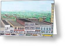 Portsmouth Ohio 1948 Dime Store Row 3rd To 4th Greeting Card