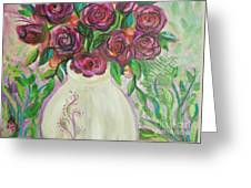 Roses For Friends Greeting Card
