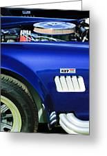 Shelby Cobra 427 Engine Greeting Card
