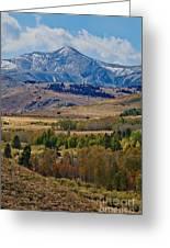 Sierras Mountains Greeting Card