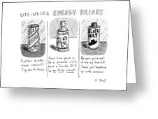 Site-specific Energy Drinks A Series Of Energy Greeting Card