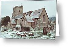 St Mary And All Saints Boxley Greeting Card