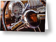 Steering Mercury Greeting Card