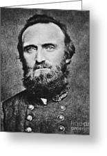 Stonewall Jackson Greeting Card by Anonymous