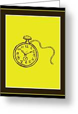 Stop Clock Greeting Card