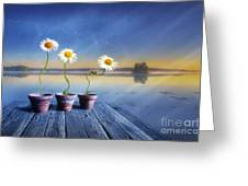 Summer Morning Magic Greeting Card