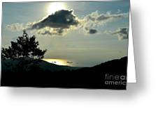 Sunset At Five Islands Greeting Card