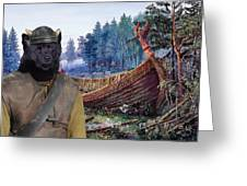 Swedish Lapphund Art Canvas Print  Greeting Card