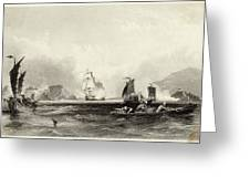 The British Fleet Forces A  Passage Greeting Card