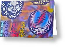 The Grateful Dead Greeting Card