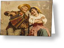 The Serenade Greeting Card
