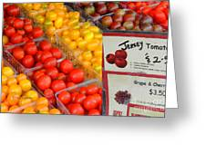 Tomatoes Nj Special Greeting Card