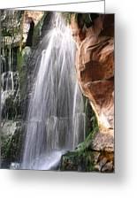 Veil Of Water Greeting Card