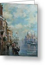 Venice At Noon Greeting Card