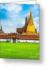 Wat Phra Kaew - Bangkok Greeting Card