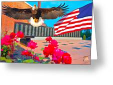 We Are All American's    Americans For All Greeting Card