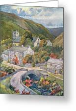 Yorkshire Scenery Muker In Swaledale Greeting Card