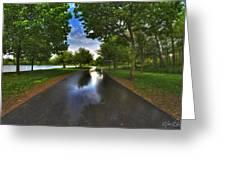 001 After The Rain At Hoyt Lake Greeting Card