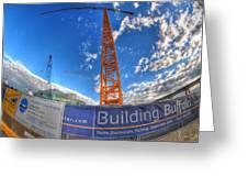 001 Building Buffalo  Greeting Card