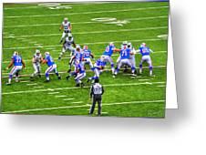 0010 Buffalo Bills Vs Jets 30dec12 Greeting Card