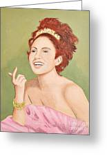 0010 Coquette Greeting Card