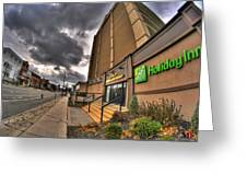 0011 Holiday Inn On Delaware Ave Buffalo Ny Greeting Card