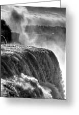 0011a Niagara Falls Winter Wonderland Series Greeting Card