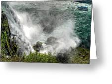 0012 Niagara Falls Misty Blue Series Greeting Card