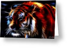 0012 Siberian Tiger Greeting Card