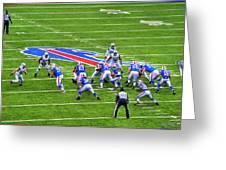 0013 Buffalo Bills Vs Jets 30dec12 Greeting Card