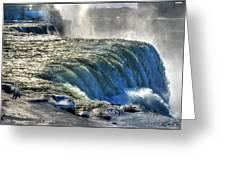 0013 Niagara Falls Winter Wonderland Series Greeting Card