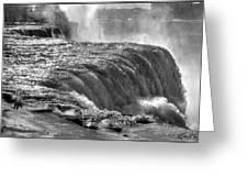 0013a Niagara Falls Winter Wonderland Series Greeting Card