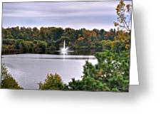 0015 Hoyt Lake Autumn 2013 Greeting Card